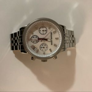 Michael Kors Ritz Chronograph Watch with Opal face